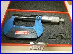 SPI #12-457-8 0-1 Specialty Spline Micrometer