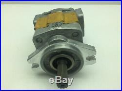 Sandvik Shimadzu SGP1A27L136 Hydraulic Pump 18mm Shaft 11 Splined