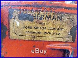 Sherman transmission ford tractor Hi Low combo 15 spline 10 A 701