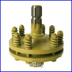Slip Clutch Adapter Kit- 1-3/8 6 Spline On Male & Female End. Tractor Pto Clutch