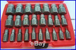 Snap On 25 Pc. Multi-Spline Extractor Set