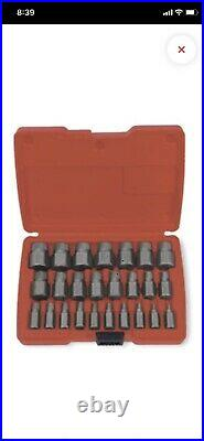 Snap-on 25 Piece Multi-Spline Screw Extractor Set