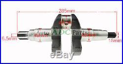 Spline Crankshaft For Kipor Kama 186FA 40mm Shaft Diameter Diesel Engine