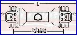 TAARUP DISC MOWER PTO 204 205 206 207 225 226 227 1 3/8 6 Spline-Sz 5