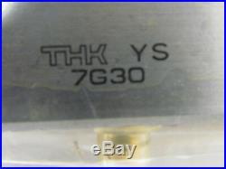 THK YS 7G30 MISC 633838 811-60-102 2 Ball Spline Nut Solid Shaft 755mm Long