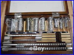 US Ship! 18pc Keyway Broach Metric Size Kit Involute Spline Cutter 12-28 Bushing