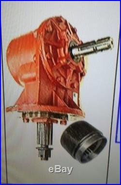 Universal Fit 75HP Rotary Cutter Gearbox 6 Spline Input shaft 11.46 RATIO