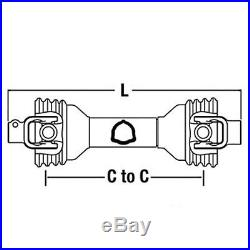 Universal PTO Driveline 1-3/8 6 Spline x 1-1/2 RB With KW 14006424 PM14006424