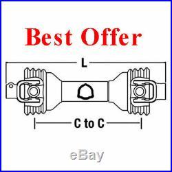 Universal PTO Driveline 1-3/8 6 Spline x 1-1/2 RB With KW 14006524 PM14006524
