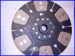 Vermeer wood chipper tractor clutch disc 1 3/8 10 spline