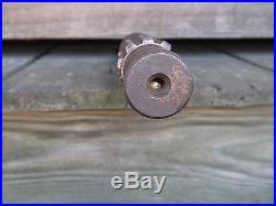 Vintage Rotary Cutter Gear Box 12 Spline Rotating Input Shaft