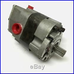 Von Ruden RSA05S-A Rol-Seal Hydraulic Motor, 5 cu. In, Spline Shaft, 2000 psi