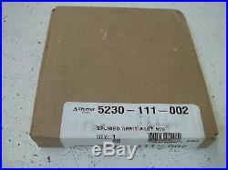 Warner Electric 5230-111-002 Splined Armt Assy 500 Factory Sealed
