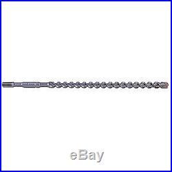 WESTWARD Hammer DrilLBit, 1-1/4 In, L36 In, Spline, 22UV26