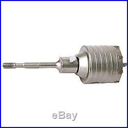 WESTWARD Hammer Drill Core Bit, Spline, 4x22 In, 22UW33