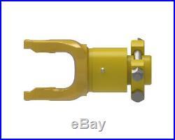 Weasler 1-3/4 x 20 Spline Overrunning Clutch Yoke with Clamp Connection 580-7020