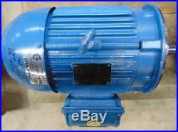 Weg 00536et3e184tcw22, W22 Nema Premium Inductive Motor 5hp, 3ph, 208-230 Volt