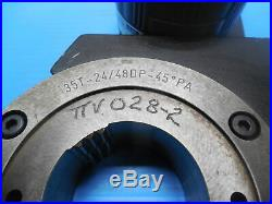 Western Pegasus 35t 24/48 Dp Spline Indicator Ring Gage 45 Deg. Pa Tooling