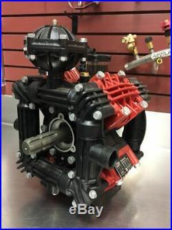Zeta 170 /CC with Dual 1-3/8 Male Six Spline PTO Shaft Sprayer Pump